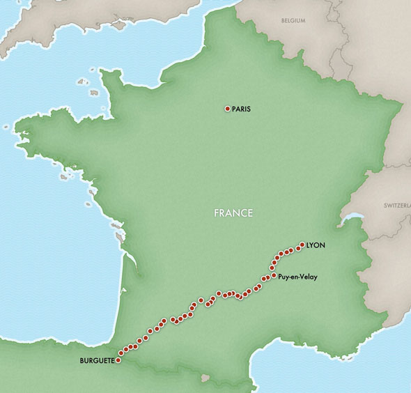 Longwalk 2009 ~ Overview – The French Section | longwalking
