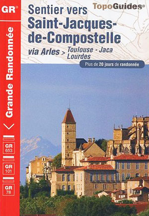 FFRP topo-guide ref. 6534 GR 653 toulouse to spain